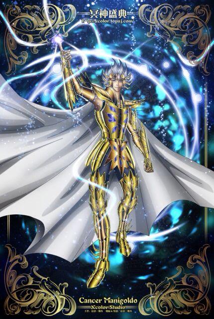 Saint Seiya - The Lost Canvas - Cancer Manigold