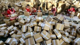 What the world's largest shopping day says about China - BBC News
