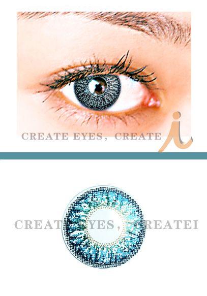 Triple Aqua Color Contact Lens (Pair) Color Contact Lens [A3] - $24.99 : Colored Contacts, Halloween Contacts,Color Contact Lenses and Crazy Contact Lenses