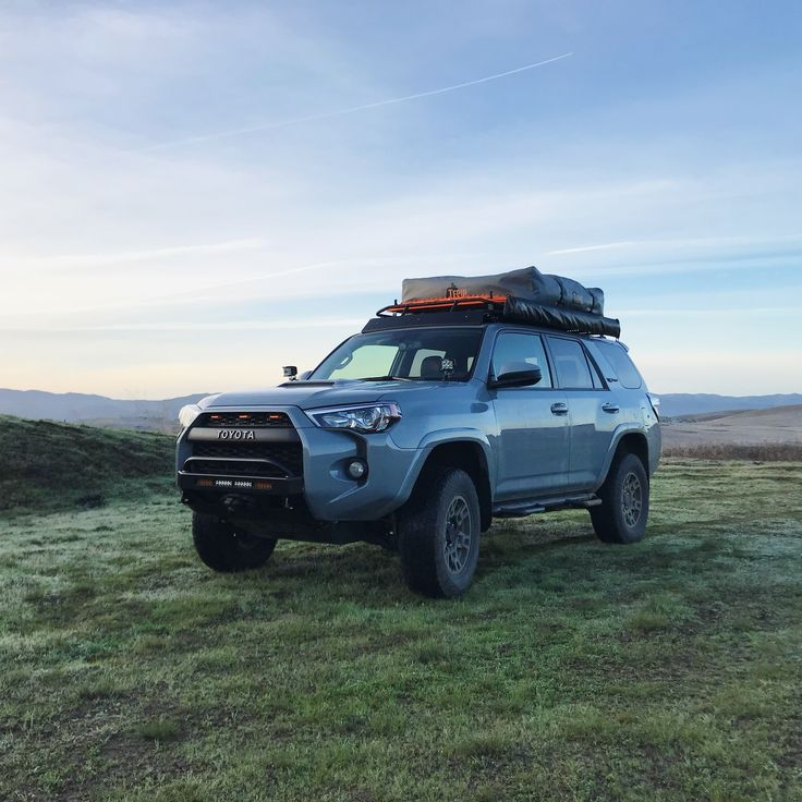 Toyota 4Runner TRD Pro with C4 Fab LoPro winch bumper