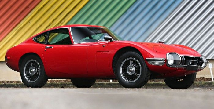 High Quality Japanese Sports Car Trio, Round Two: Toyota 2000GT, Nissan