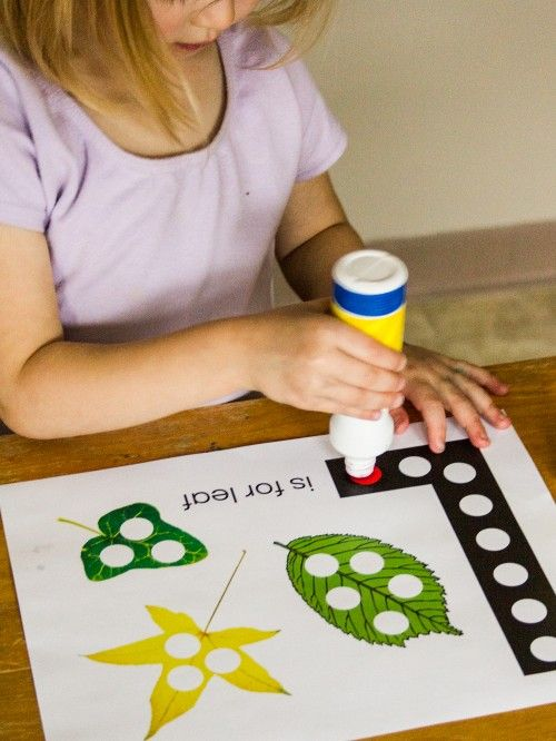Preschool Leaf Activity Pack- great activities for early learners