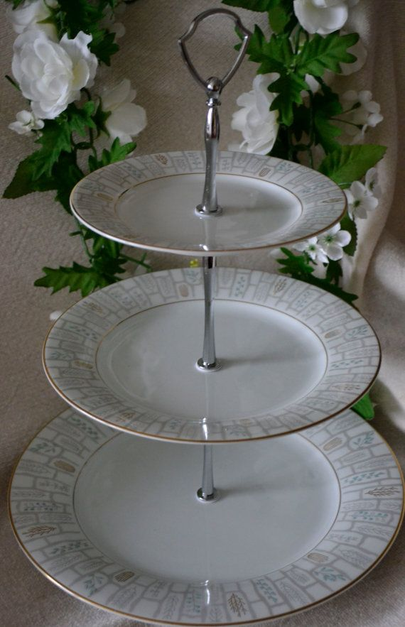 best 25 3 tier serving tray ideas on pinterest galvanized 3 tier stand tiered stand and 3. Black Bedroom Furniture Sets. Home Design Ideas