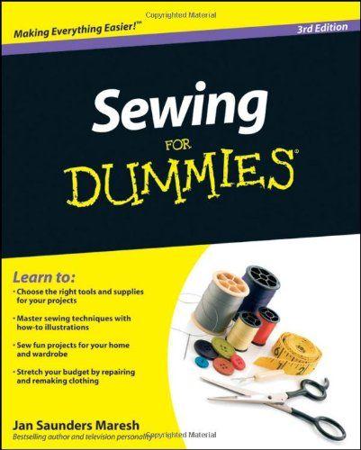 #Sewing For Dummies/Jan Saunders Maresh