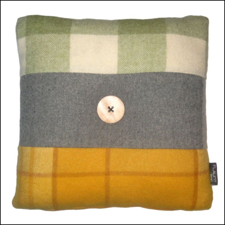 Pure Wool Vintage Blanket Cushions. Available from www.flaunt.com.au