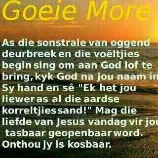 Goeie More