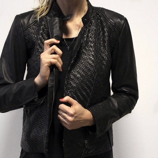 Cool autumn '15 styles keep arriving - check out this leather beauty #autumn15 #coolio #cantwait #objectfashion