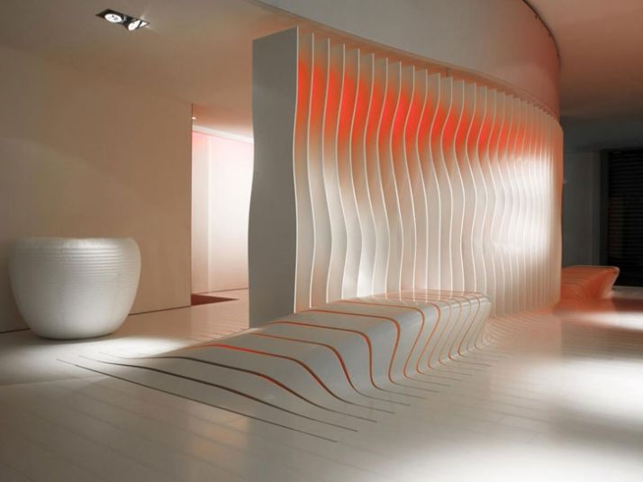 DuPont Corian and Amanda Levete Architects