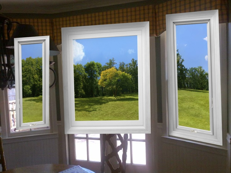 21 best replacement windows images on pinterest casement for Bow window replacement