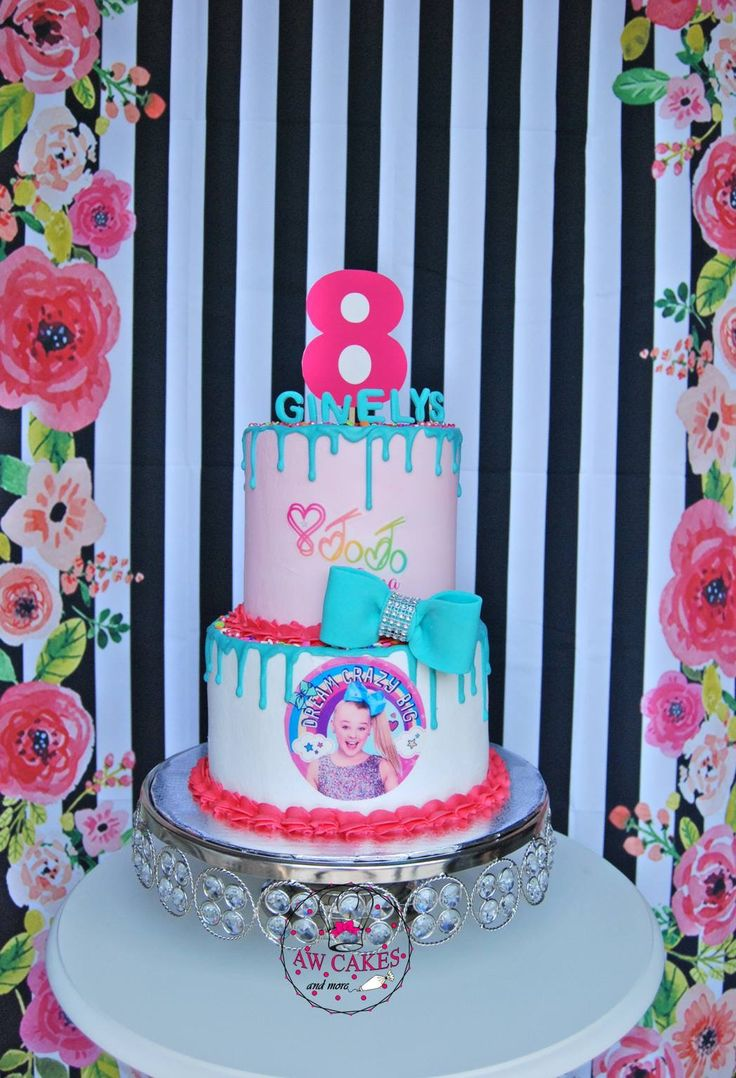 in 2020 Jojo siwa birthday cake, Jojo siwa