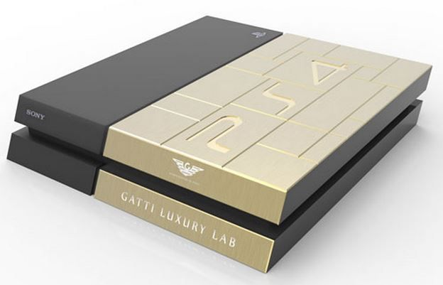 Solid Gold XBox One And PlayStation Consoles On Sale In Dubai Costs $13,700