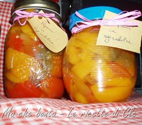 Peperoni in agrodolce. #ricetta di @wondercle