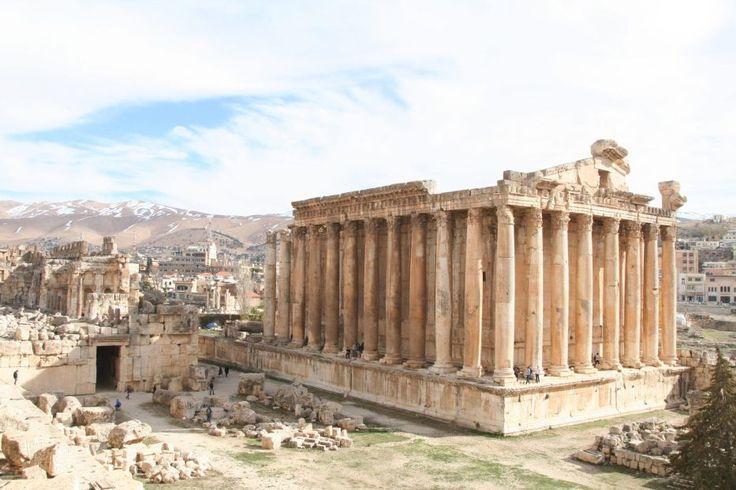 UNESCO. Baalbek Libannon (Herbollah presence advises against a visit)