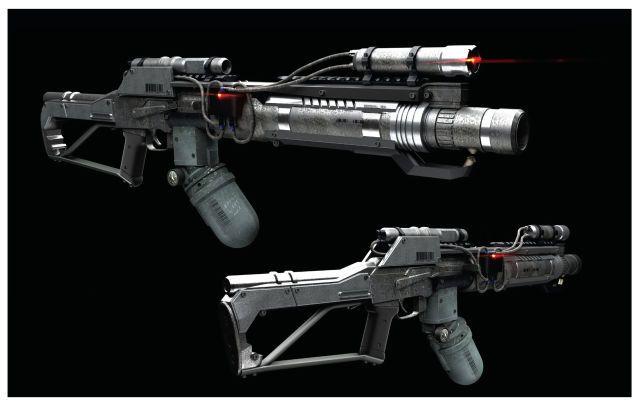 Carabina AKS-74U Modificada.Terminator genesis