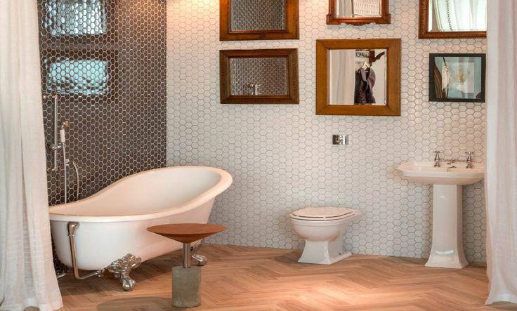 Usando Mini Azulejos Hexagonais | Click Interiores