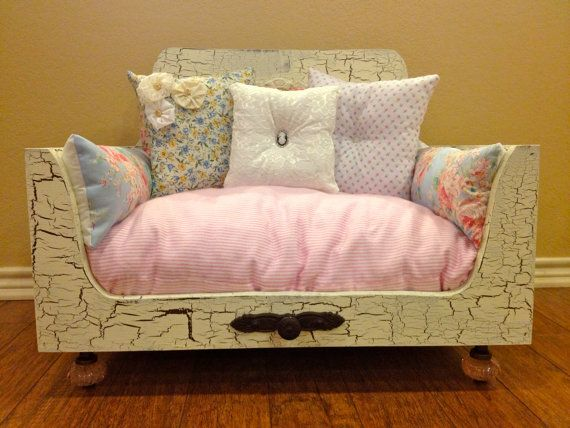 Recycling Old Furniture, Suitcases, Wooden Boxes For Pet Beds