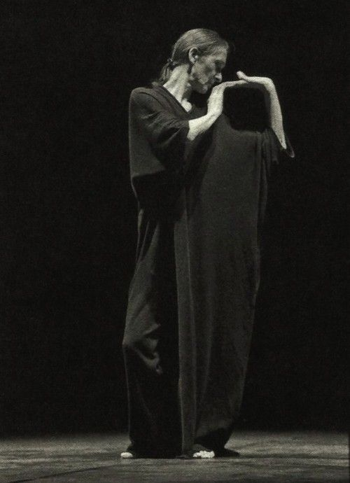 yohji yamamoto for pina bausch, 25th anniversary of the tanztheater wuppertal foundation, 1998
