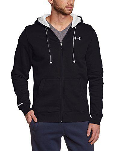 Under Armour Storm Rival Sweat-shirt à capuche zippé Homme: Confortable et pratique Protection contre les intempéries Cordon de serrage…