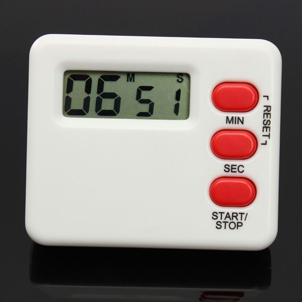 amazones gadgets I, Mini LCD Kitchen Timer Countdown Digital Display 99 Minutes: Bid: 9,97€ Buynow Price 9,97€ Remaining 05 dias 04 hrs…