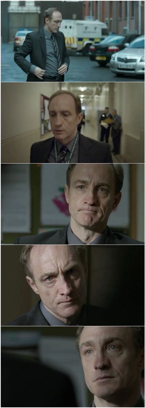 """Michael McElhatton in BBC's The Fall.  You may know him as Roose Bolton in """"Game of Thrones"""""""