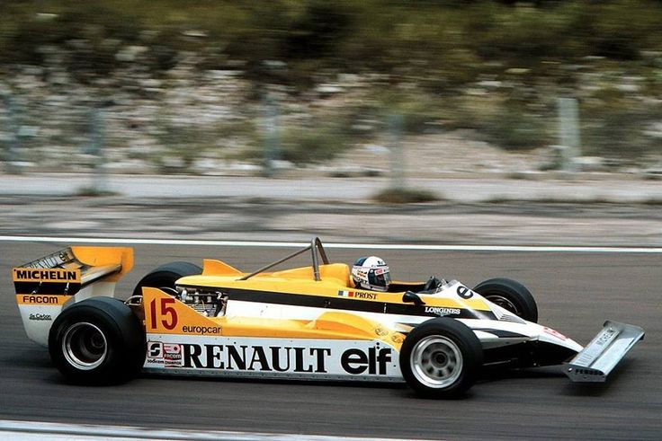 alain prost renault re30 dijon prenois 1981 formula 1 legends pinterest. Black Bedroom Furniture Sets. Home Design Ideas