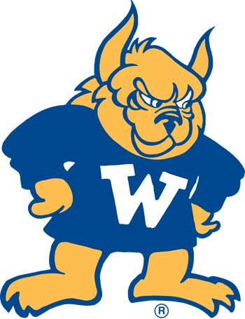 """Webster University Gorlok Mascot. The name """"Gorlok"""" was derived from the combination of two streets that intersect in the heart of """"Old Webster,"""" Gore and Lockwood avenues. The name was chosen in June 1984 by a campus committee that considered many suggestions and voted several times before settling on the unusual nickname."""
