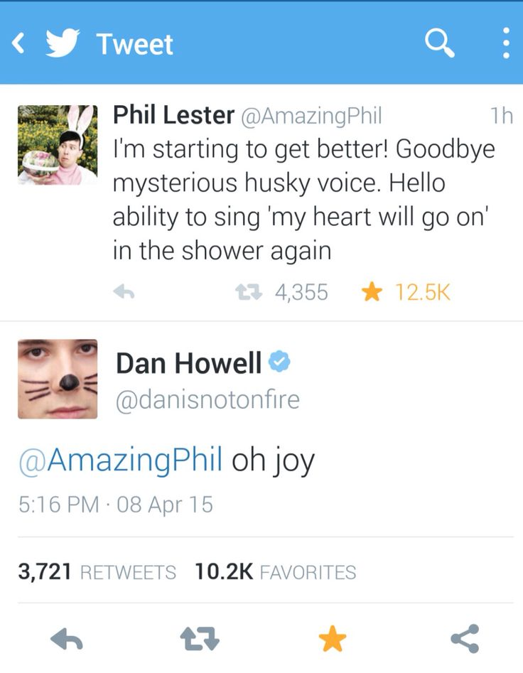 I love how dan's profile picture is exactly the face I see him making as he thinks this
