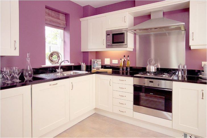 11 Stylish Kitchens In Shades Of Violet And Purple Color Stylish