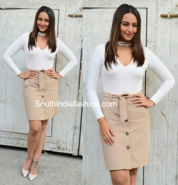Sonakshi Sinha Promotes Force 2 In Style photo