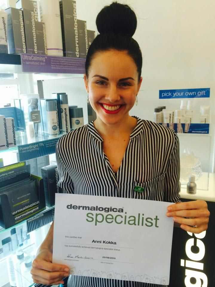 Meet Annie one of our Dermalogica Specialist certified Skin Therapists.