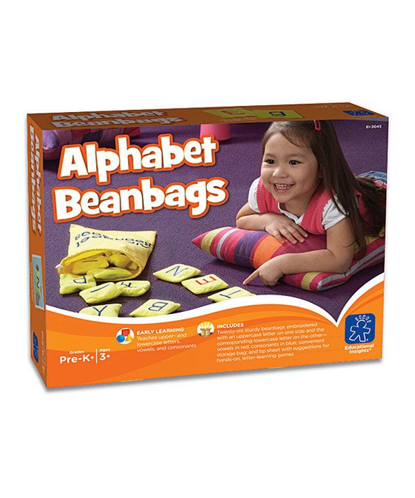 Take a look at this Alphabet Beanbag Set on zulily today!