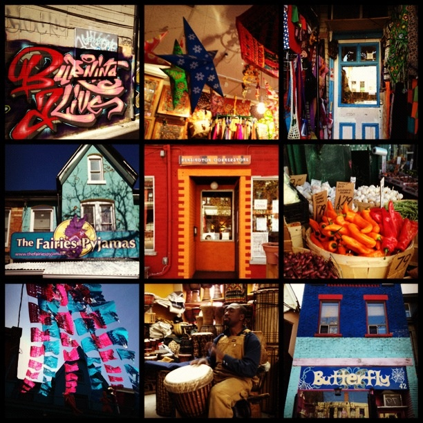 I am Kensington Market.  #Toronto #Kensington #Market #Art #Food #Culture