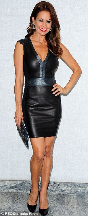 WOW!!! Leather ''Ursula'' dress an amazing fashion designer for Lapina Fall 2013.