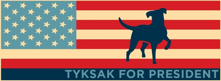 Vote for our dog - US election 2012