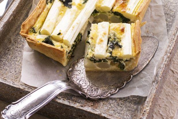 Leckere Spinat-Spargel-Quiche zum Gründonnerstag: http://sunny7.at/recipes/vegetable-dishes/spargel-spinat-quiche