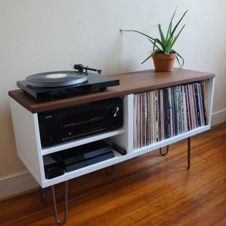 17 meilleures id es propos de console de tourne disque sur pinterest rangement de disques. Black Bedroom Furniture Sets. Home Design Ideas