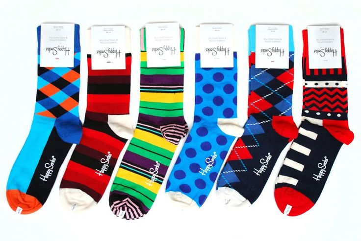 Over-the-top socks are a super-easy way to let your fun side show without over-committing!