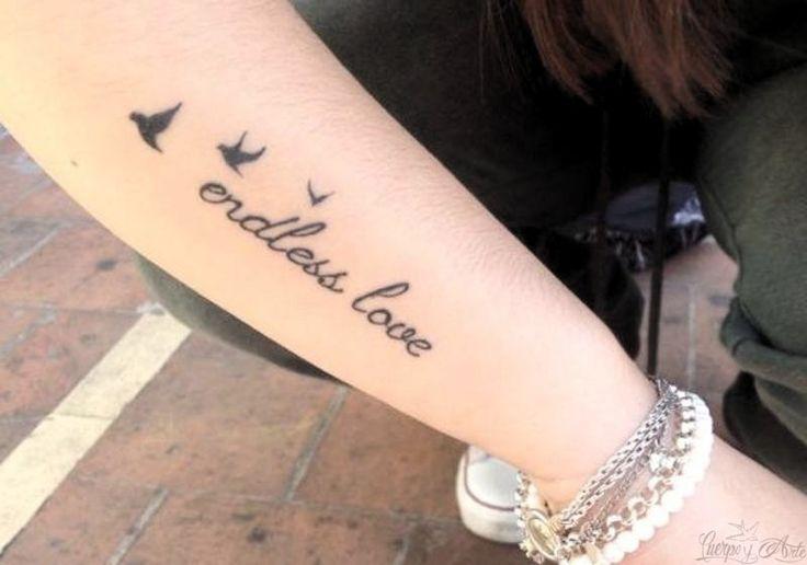 Tatuaje de amor eterno enviado por Jimena