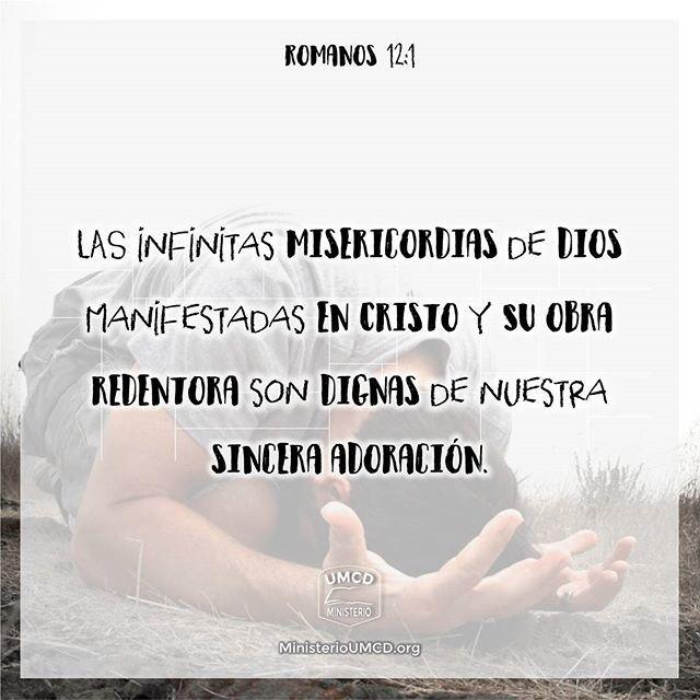 """¿Ha considerado las misericordias de Dios?  Romanos 12:1 """"Así que, hermanos, os ruego por las misericordias de Dios, que presentéis vuestros cuerpos en sacrificio vivo..."""" Somos salvos por medio del evangelio que había sido prometido por los profetas a lo largo de """"las santas Escrituras"""" (1:1, 2). Es por medio del evangelio que la """"justicia de Dios"""" nos es revelada """"por fe y para fe"""", ya que una persona es declarada justa y """"vivirá"""" eternamente por medio de la """"fe"""" (1:17). El hombre es…"""