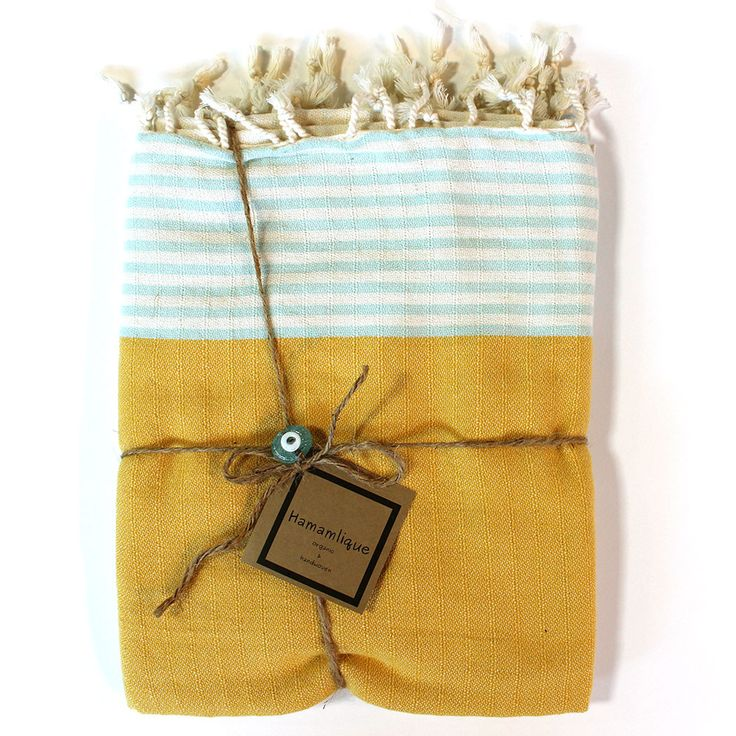 turkish towels make the perfect gift presented so nicely here - Turkish Towels