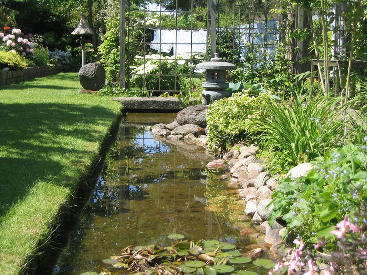 Vand i haven i Plantorama