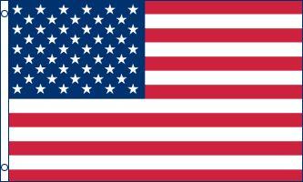 USA Flag 2x3ft Poly