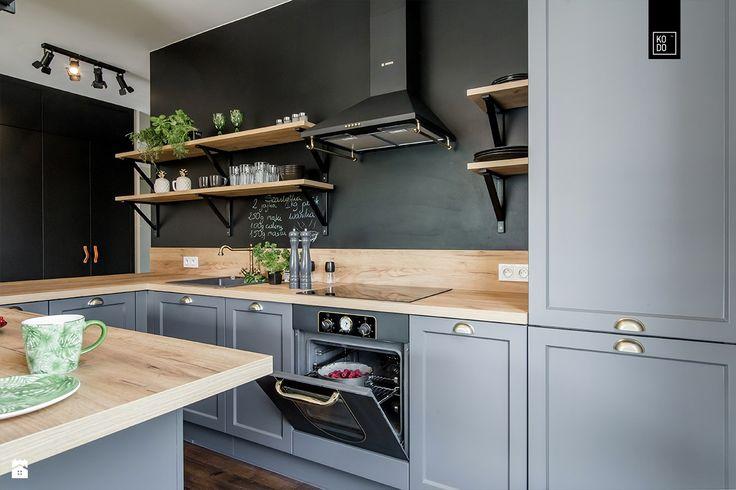 Kuchnia styl Industrialny - zdjęcie od PRACOWNIE WNĘTRZ KODO - Kuchnia - Styl Industrialny - PRACOWNIE WNĘTRZ KODO
