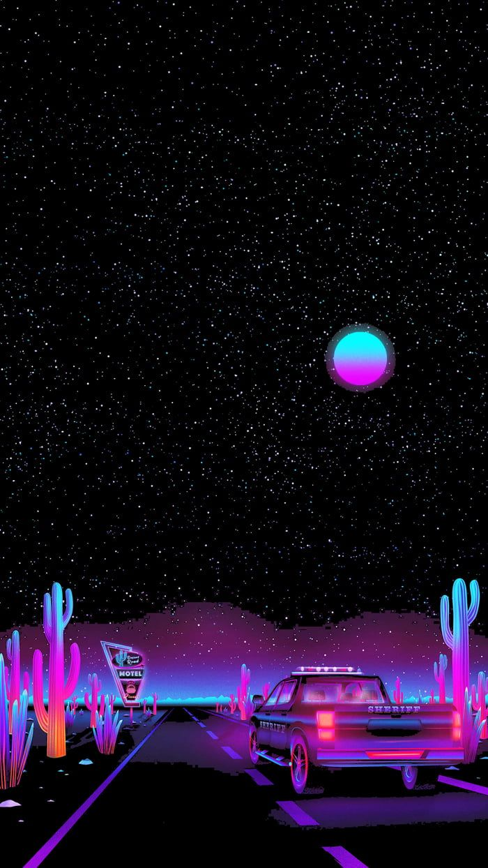 Retro Desert In 2020 Trippy Wallpaper Vaporwave Wallpaper Retro Wallpaper