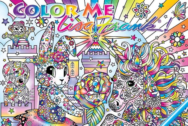 This Is Not a Drill: A Lisa Frank Coloring Book Is Coming Soon | Mental Floss