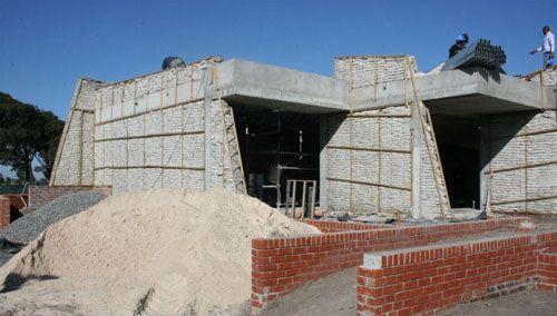 Sandbag Building, Sandbag Construction, Sandbag House