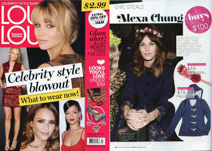 our floral crown in Loulou magazine!  http://www.loveheadmistress.com/spring-floral-crowns/597-wonder-wheel-crown-2.html