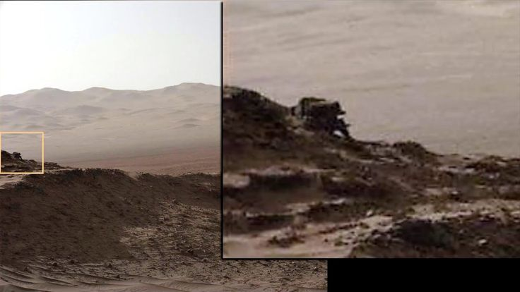 Amazing NASA images. Someone else is on Mars : Best evidence so far.