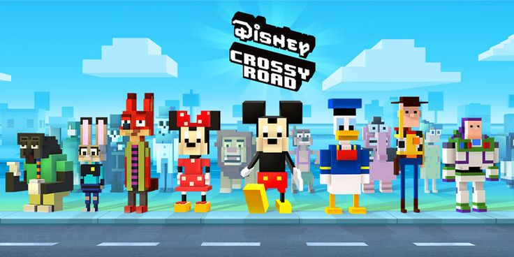 Disney Crossy Road is Adorably Addictive!