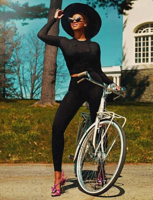 I don't know anyone that's looked this amazing riding a frickin bicycle